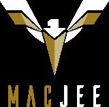logotipo mac jee fundo escuro