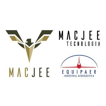 Logotipos do grupo Mac Jee