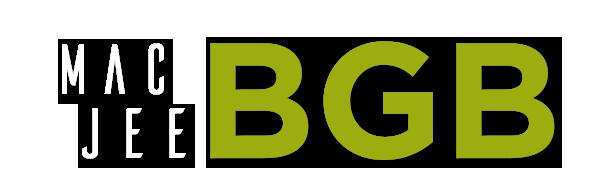 Logotipo Mac Jee BGB - Colorido