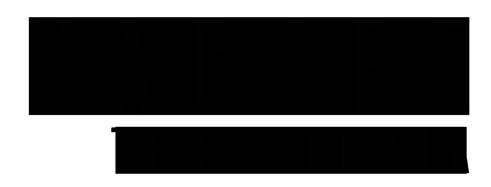 Logotipo preto Mac Jee Tecnologia
