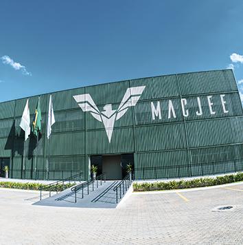 Fábrica São José dos Campos Mac Jee - Indústria de defesa brasileira
